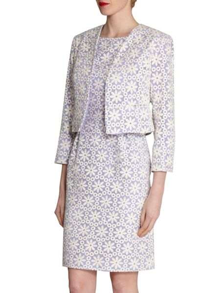 Gina Bacconi Daisy embroidered jacket