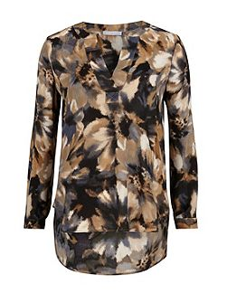 Water colour flower print kaftan
