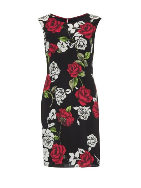 Gina Bacconi Rose Modern Crepe Georgette Dress