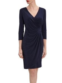 Gina Bacconi Ps Jersey Dress With Sequin Insert