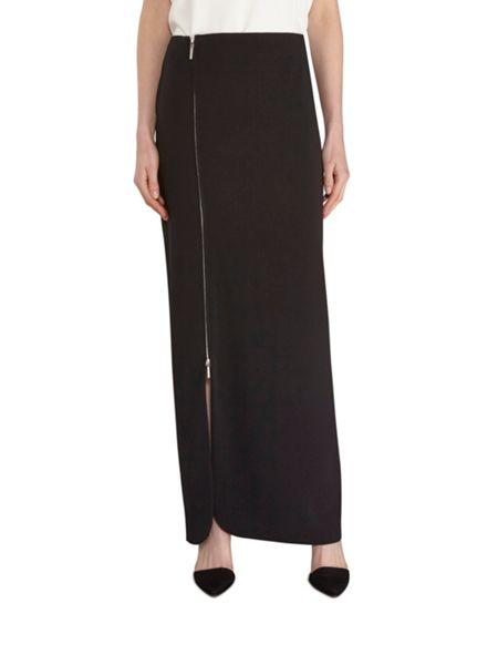 Gina Bacconi Statement zip maxi skirt