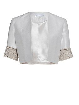 Crepe Chine And Antique Foil Jacket