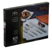 Arthur Price Berry 30 piece cutlery boxed set
