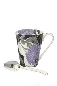 Llewelyn Bowen Mug and Spoon Madames Butterfly