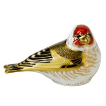 Royal Crown Derby Goldfinch paperweight