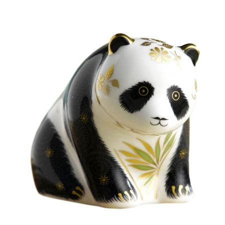 Royal Crown Derby Baby panda