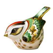 Royal Crown Derby Firecrest paperweight