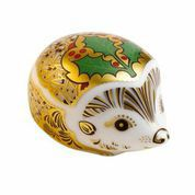 Image of Royal Crown Derby Holly hedgehog