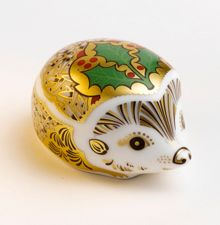 Royal Crown Derby Holly hedgehog