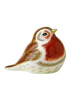 Royal robin paperweight