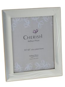 Arthur Price Silver plated Weston photograph frame 8x10