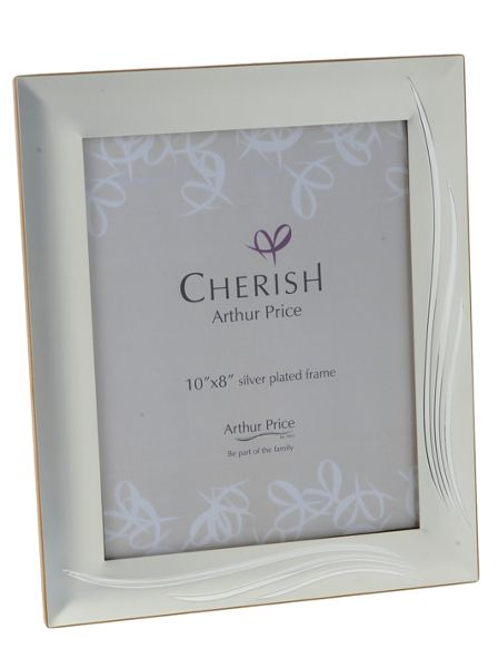 Arthur Price Silver plated 8 x 10 Weston photograph frame