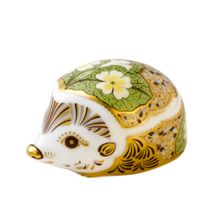 Royal Crown Derby Primrose hedgehog paperweight