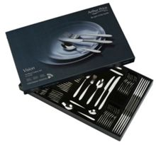 Arthur Price Vision 76pc stainless steel cutlery set