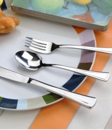 Arthur Price Apollo design stainless steel child`s cutlery set
