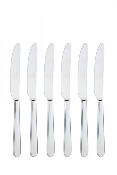 Arthur Price Monsoon box of 6 stainless steel tea knives