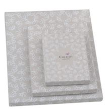 Silver plated 6x4 Oxford double photo frame