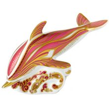 Dolphin paperweight in aid of breast cancer