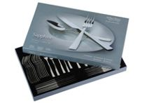 Sapphire 58 pce 8 person stainless steel cutlery