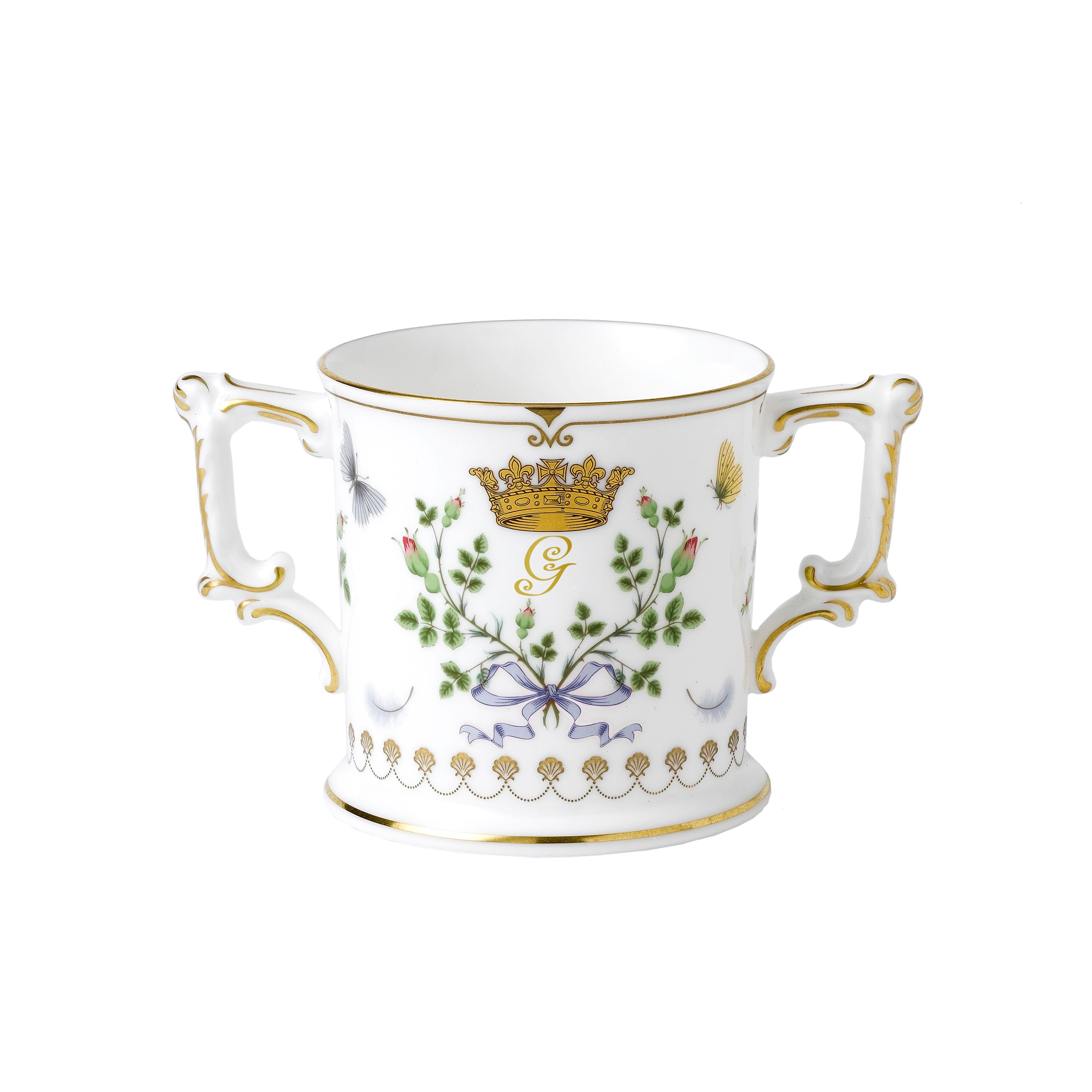 Royal Crown Derby Royal Crown Derby Loving cup limited adition