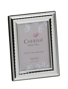 Silver plated 3.5 x 5 Coniston photograph frame