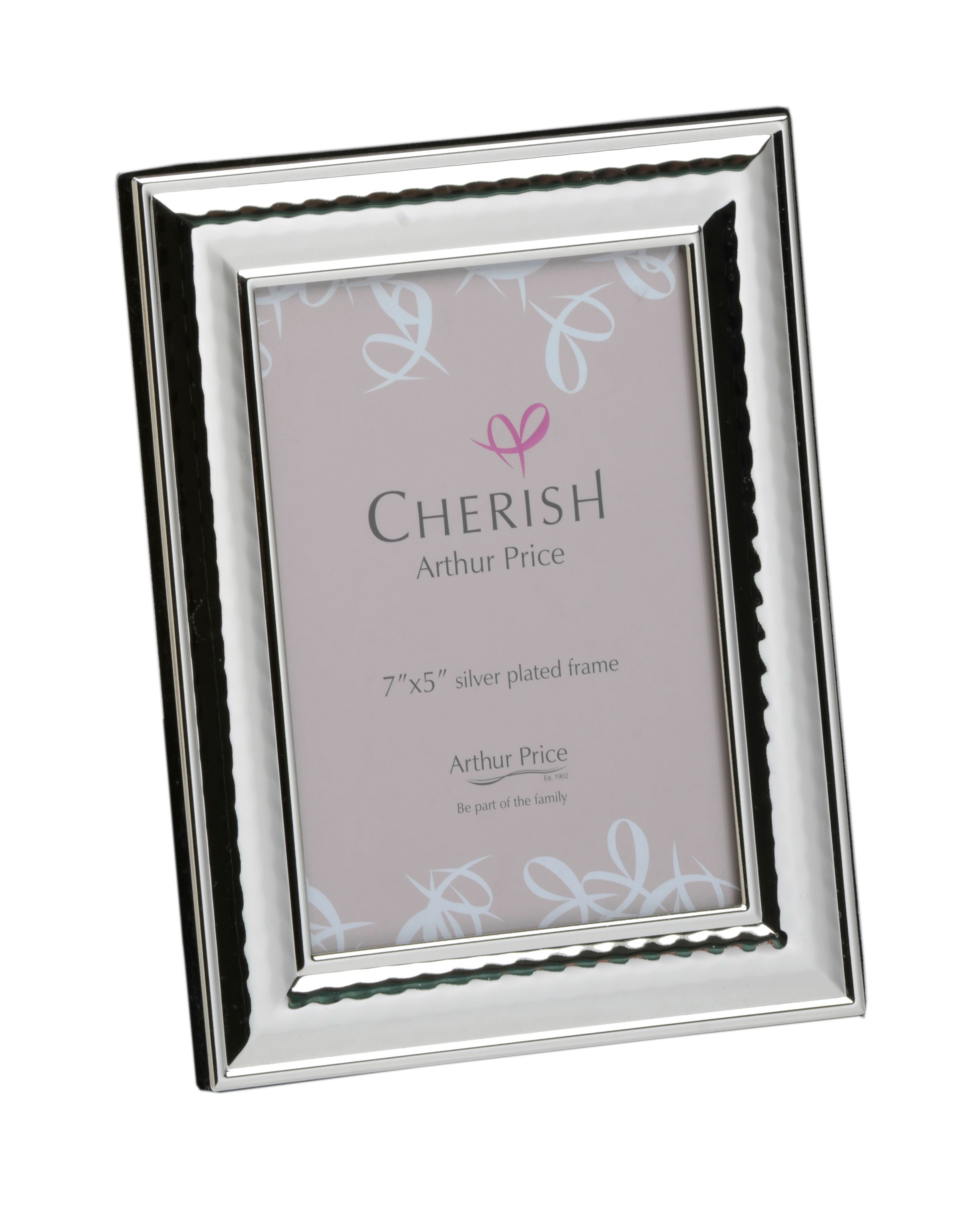 Silver plated 5 x 7 Coniston photograph frame