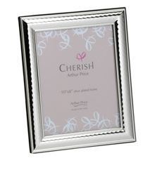 Silver plated 8 x 10 Coniston photograph frame