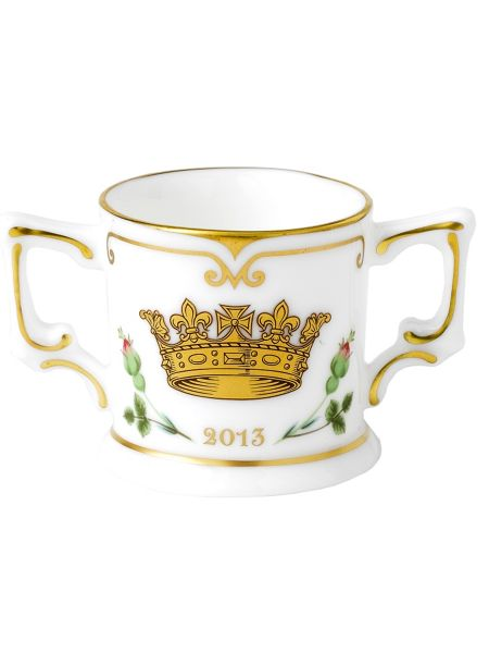 Royal Crown Derby Mini loving cup limited adition