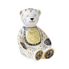 Royal Crown Derby Teddy bear limited edition
