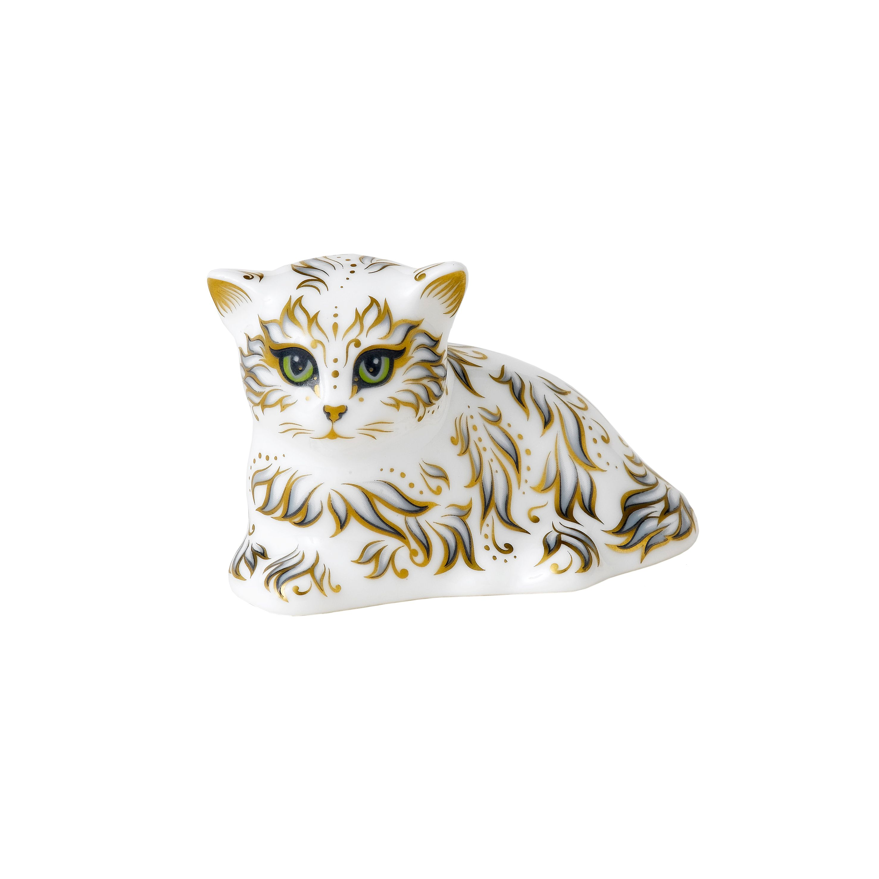 Image of Royal Crown Derby Millie kitten