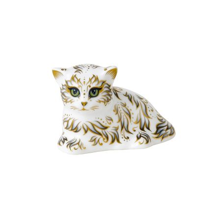 Royal Crown Derby Millie kitten