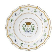 Royal Crown Derby Gadroon plate limited edition