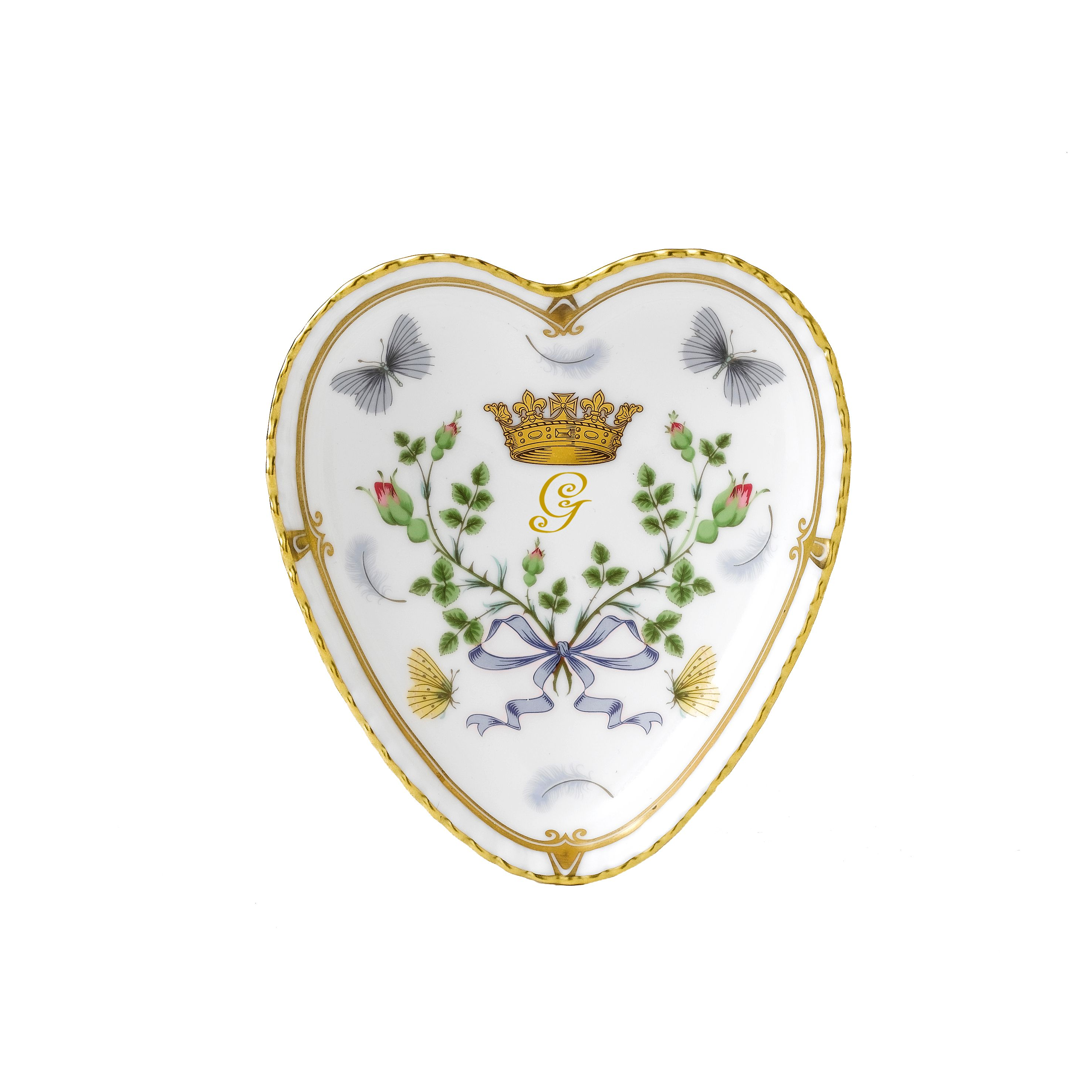 Image of Royal Crown Derby Heart tray