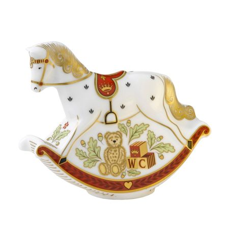 Royal Crown Derby Rocking horse limited edition