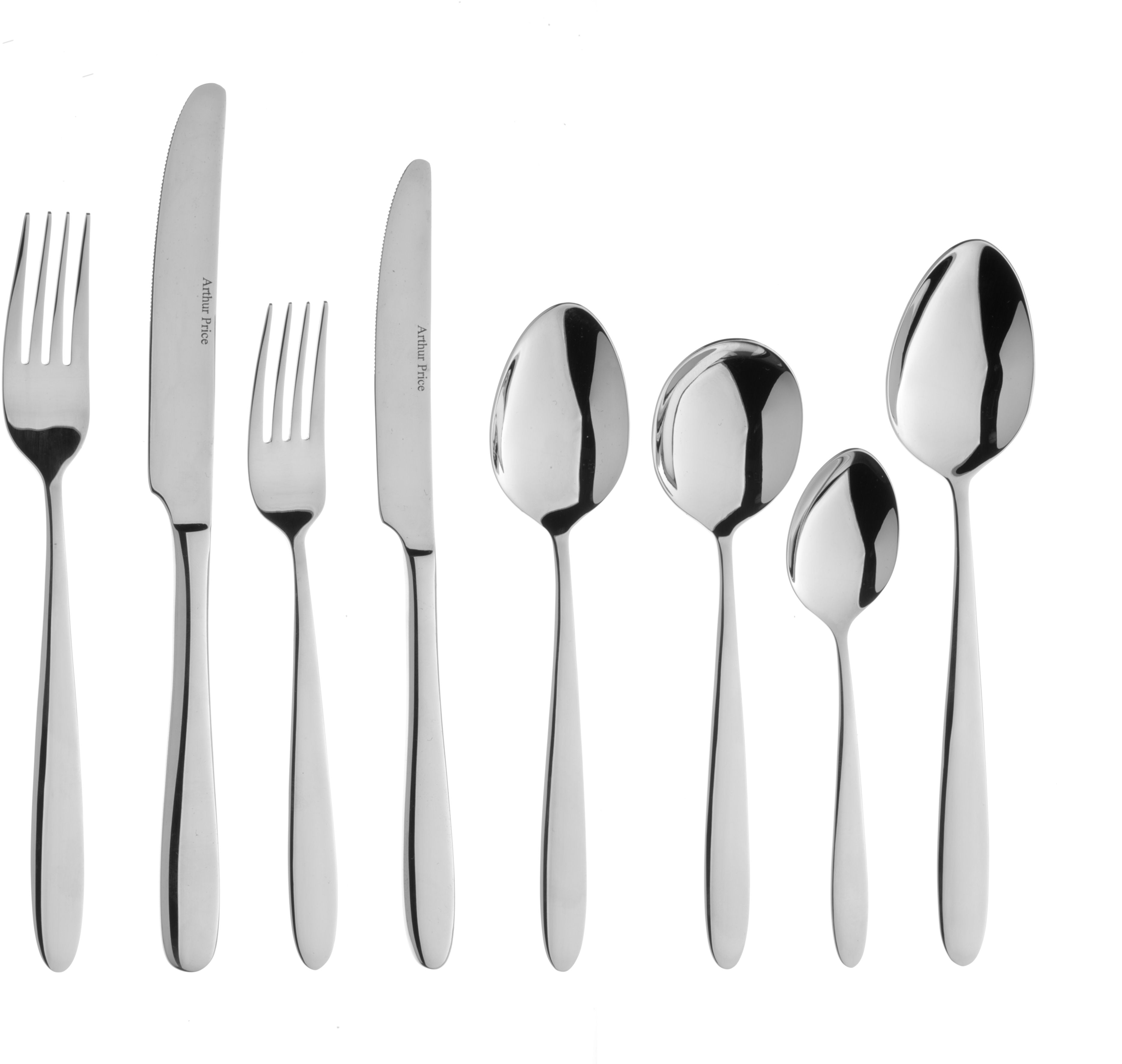 Vision 44 pce 6 person stainless steel cutlery bo