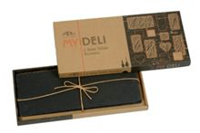 My deli set of 2 slate table runners