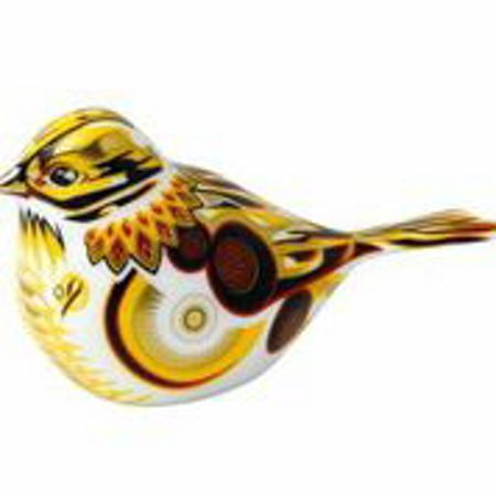 Royal Crown Derby Yellow hammer
