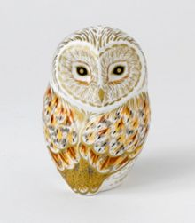 Royal Crown Derby Winter owl