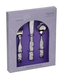 Arthur Price Stainless Steel Child`s 2015 cutlery set