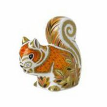 Royal Crown Derby Autumn squirrel