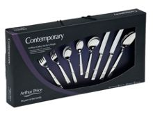 Fusion 48pc stainless steel cutlery set