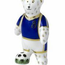 Footballer blue bear