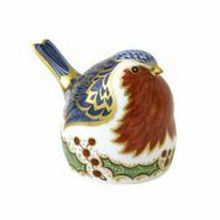 Royal Crown Derby Christmas robin