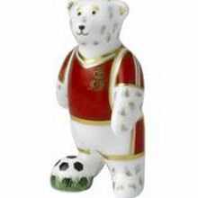 Footballer red bear