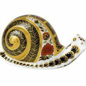 Image of Royal Crown Derby Imari snail