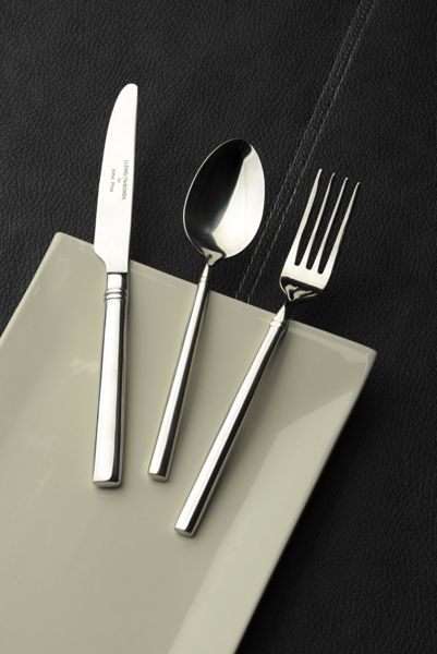 Arthur Price Valentina stainless steel box of 6 pastry forks