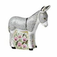 Royal Crown Derby Donkey foal