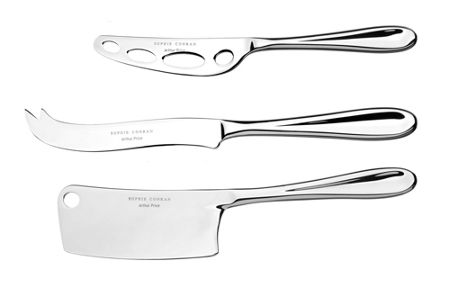 Arthur Price Sophie conran stainless steel 3 piece cheese set