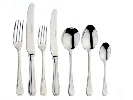 Arthur Price Bead box of 4 stainless steel serving spoons