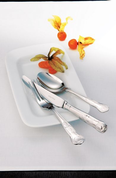 Arthur Price Kings box of 4 stainless steel serving spoons